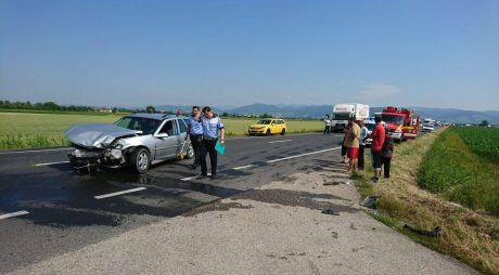 BREAKING NEWS: ACCIDENT RUTIER între Simeria și Hațeg