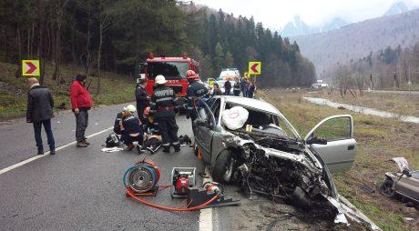 Numărul accidentelor fatale a crescut dramatic în România