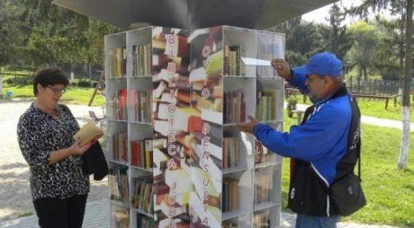 DEVA   Încă trei biblioteci în aer liber