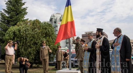 Deva. Ceremonial de Ziua Drapelului Național