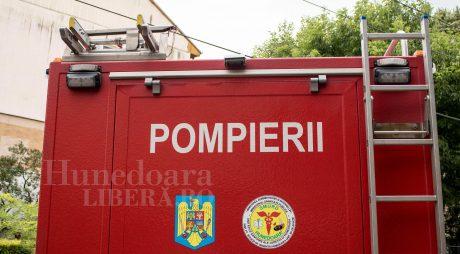 BREAKING NEWS: INCENDIU VIOLENT LA ORĂŞTIE. 5 RĂNIȚI