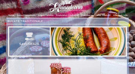 S-a lansat site-ul turistic al județului Hunedoara