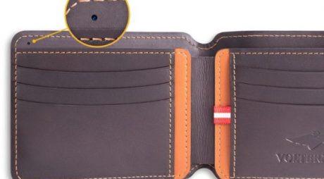 Cel mai sigur portofel din lume are cameră, localizare prin GPS şi alarmă