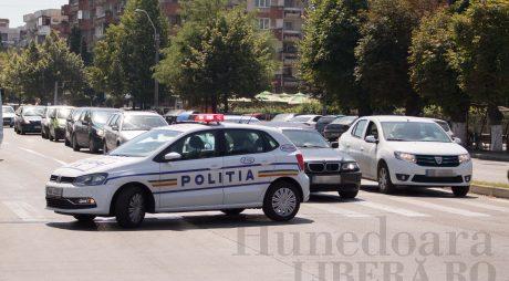 Pieton accidentat de o șoferiță din Hunedoara