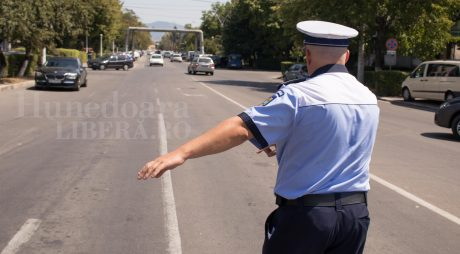 De Paști, polițiștii au aplicat aproape 150 de amenzi