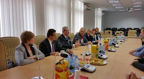 Delegație din Szombathely, la Hunedoara