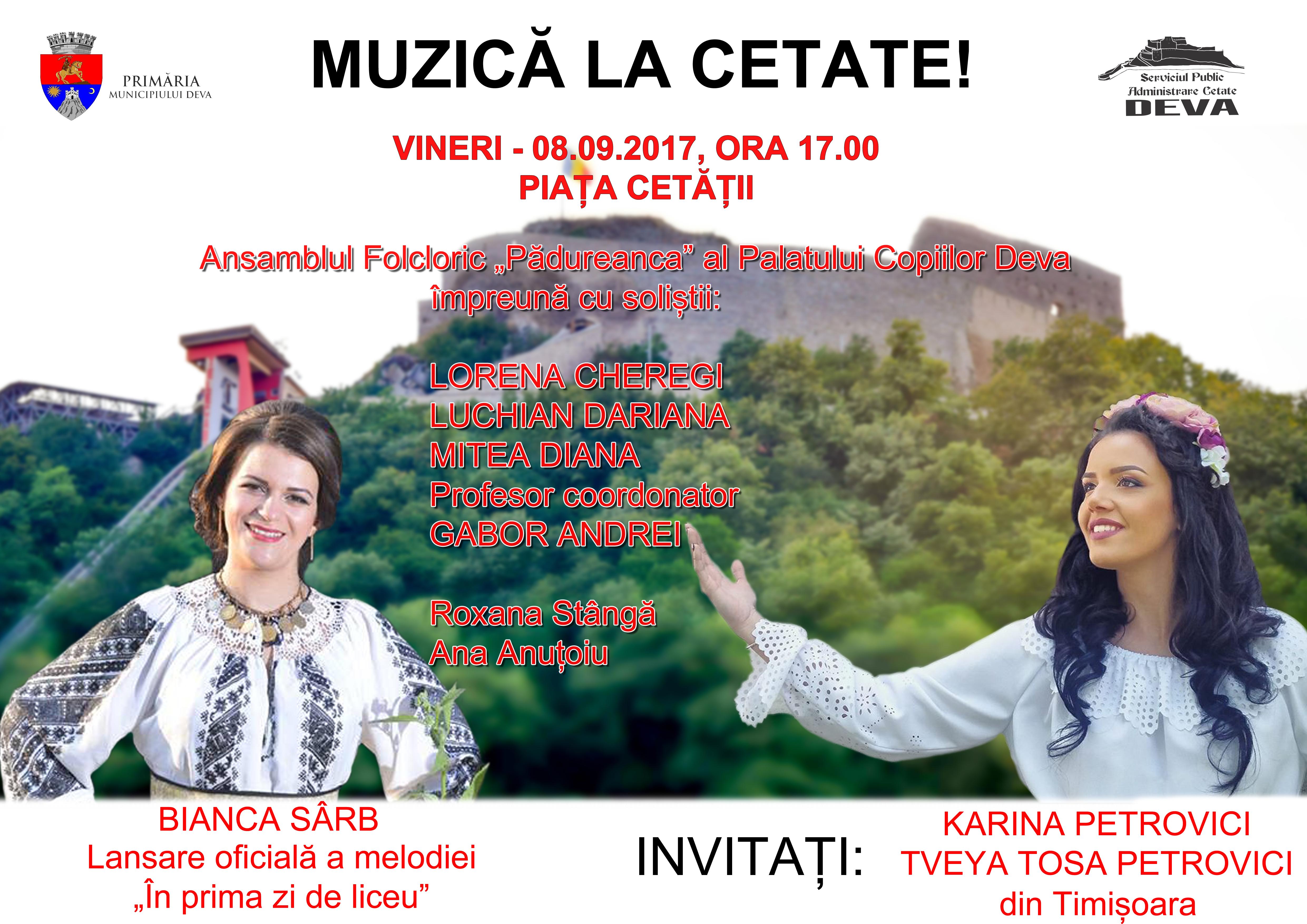 Afis spectacol folcor Piata Cetatii - 5 septembrie 2017 (1)