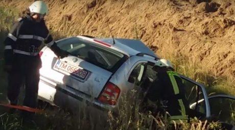 IMPACT MORTAL. Accident teribil provocat de un șofer de 23 de ani