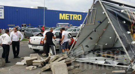 Dosar penal pentru incidentul din parcarea Shopping City Deva
