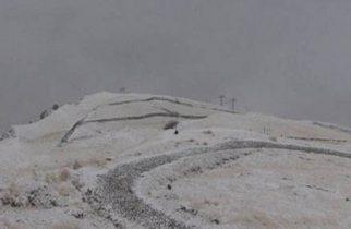 Prima ninsoare în Banat. Strat de zăpadă de câțiva centimetri
