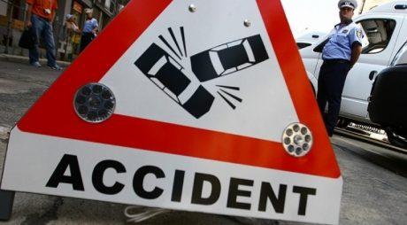 Tânăr de 19 ani rănit într-un accident lângă Hunedoara