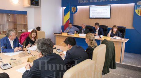 Bugetul municipiului Hunedoara a fost aprobat!
