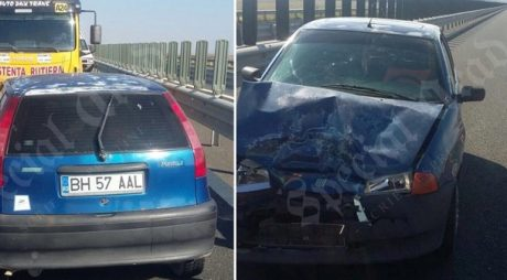 Șofer de 69 de ani, pe contrasens pe autostradă