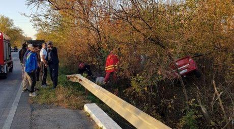 ACCIDENT pe șoseaua Deva-Petroșani. O minoră de 15 ani, rănită