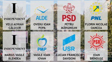 Alegeri parțiale la Deva | Cine sunt cei 8 candidați