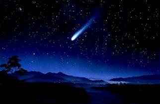 Imagine spectaculoasă pe cerul României