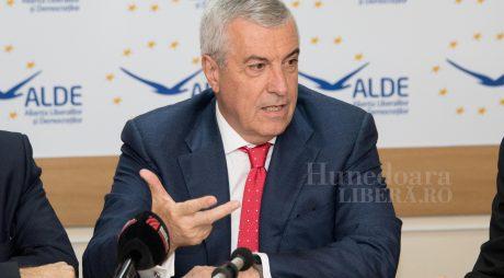Tăriceanu: Alianță politică între ALDE și Pro România