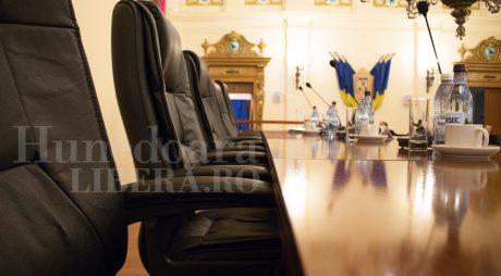 CJ Hunedoara, convocat luni în ședință ordinară