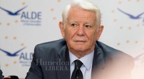 Teodor Meleşcanu a fost ales preşedintele Senatului