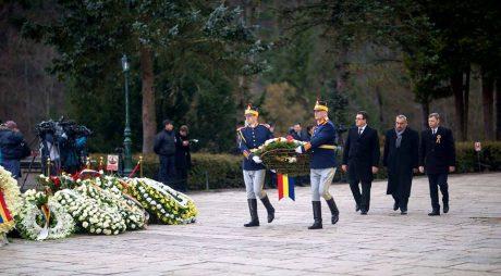 Județul Hunedoara, omagiu adus Regelui Mihai I