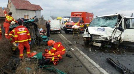 Breaking News: Trafic BLOCAT pe DN7 în urma unui grav accident