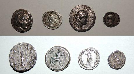 Monede antice recuperate de polițiștii hunedoreni