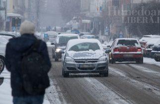 Infotrafic: Se circulă în condiții de iarnă