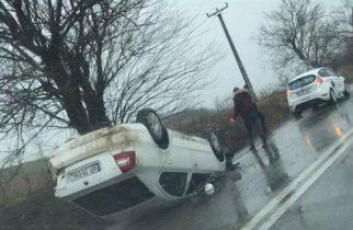 ACCIDENT spectaculos în vestul țării