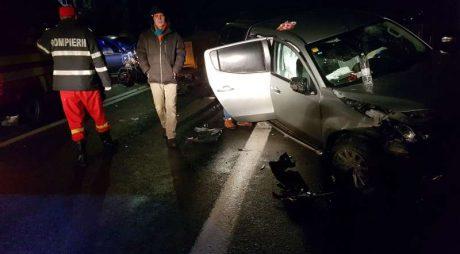 Breaking News: ACCIDENT GRAV cu patru răniți pe DN7