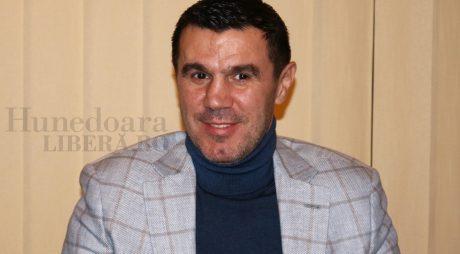 Mihai Leu, elev pentru o zi la Şcoala de Poliţie