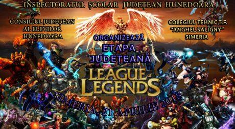 League of Legends | Patru săptămâni până la etapa județeană