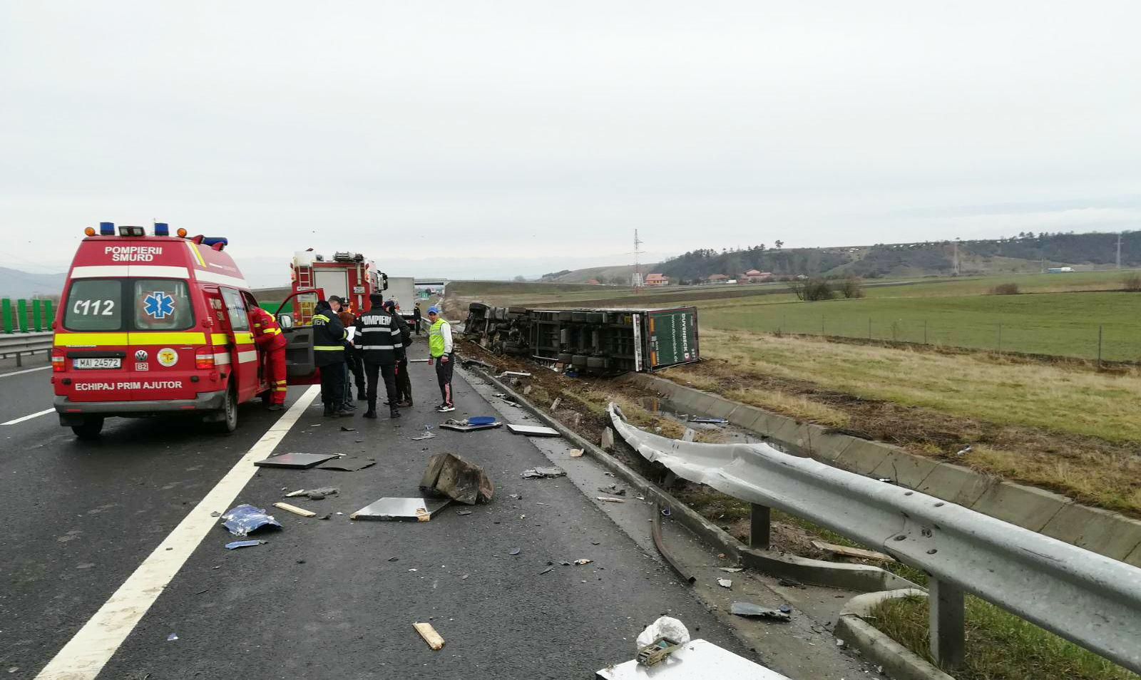 accident camion autostrada (2)