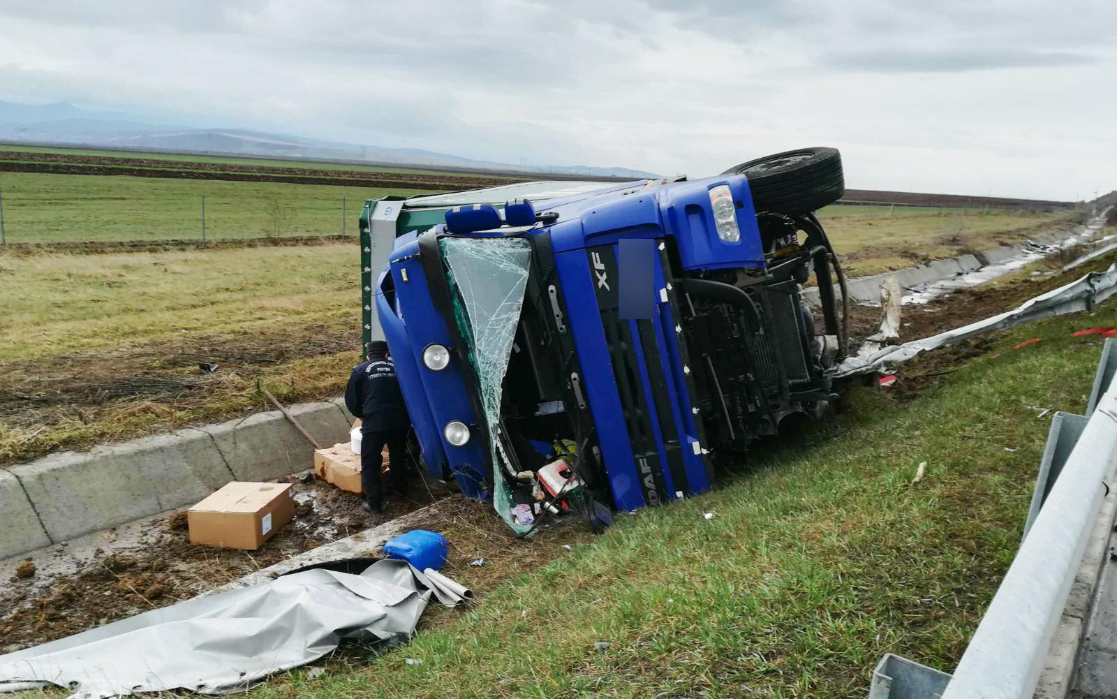 accident camion autostrada (3)