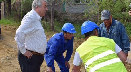 Apa Serv extinde rețeaua de canalizare din Lupeni