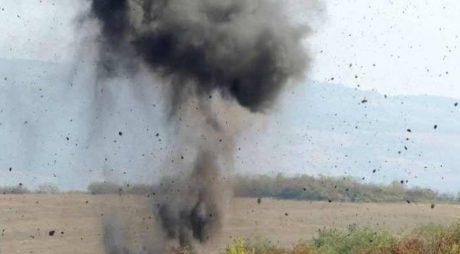 Distrugere de muniţie în Poligonul Dealul Paiului!