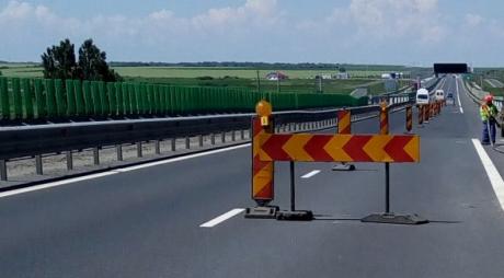 Restricții de circulație pe autostrada Deva-Sibiu