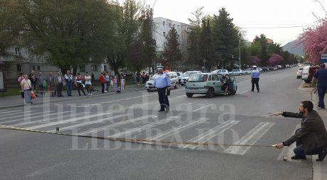 Breaking News: BEBELUȘ RĂNIT într-un grav accident rutier în Deva