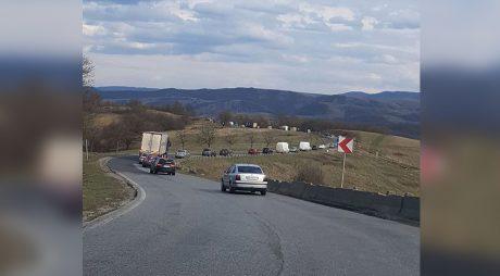 Reparații de urgență pe șoseaua Deva-Lugoj
