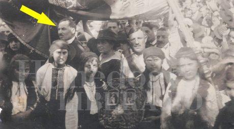 1918: Dr. Gheorghe Dubleșiu, președintele Consiliului Național Român din Hunedoara