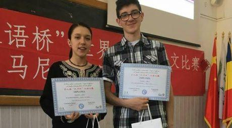 Elevi deveni, la faza regională a olimpiadei de Limbă chineză