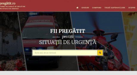 Platformă de pregătire a populației pentru situații de urgență
