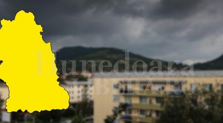 ANM: Cod galben de vreme instabilă și în județ