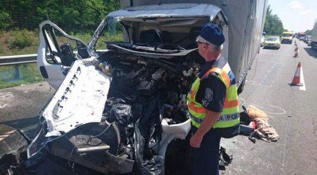 Încă un ACCIDENT MORTAL în Ungaria. Un șofer român a murit