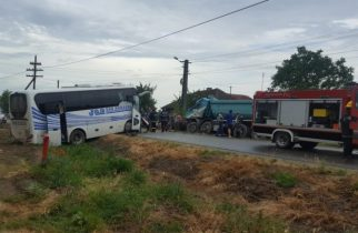 ACCIDENT ÎNFIORĂTOR pe o șosea din vestul țării