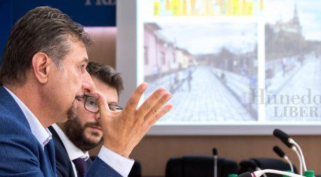 Cum se va moderniza Hunedoara. Proiectele de mobilitate, prezentate pe larg