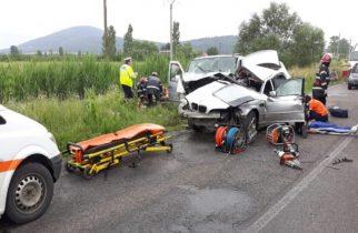 Breaking News: ACCIDENT GRAV CU 5 RĂNIȚI și două mașini făcute praf!