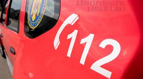 Accident lângă Hunedoara. Bărbat de 34 de ani rănit