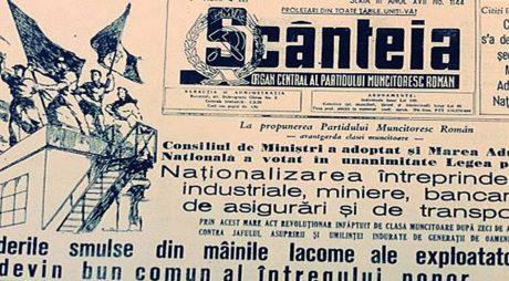 70 de ani de la marea naționalizare