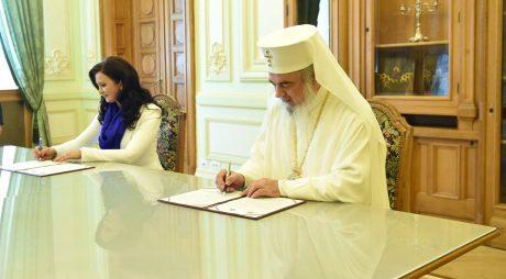 Protocol de colaborare cu Patriarhia pentru comunitățile românești