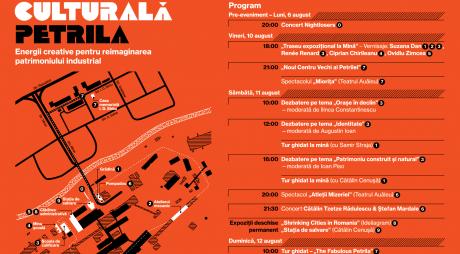 Exploatarea culturală Petrila | Programul evenimentului
